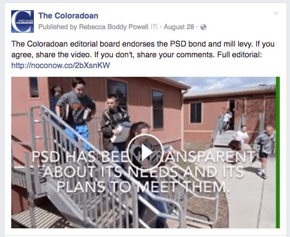 CO video editorial bond