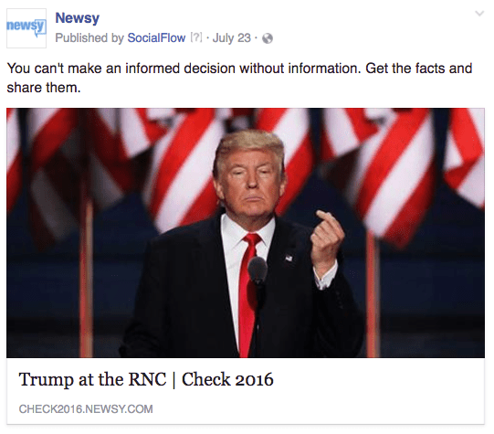 Newsy RNC facts