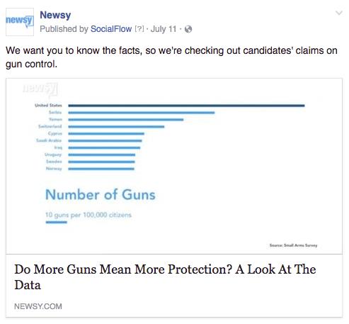 Newsy gun fact check