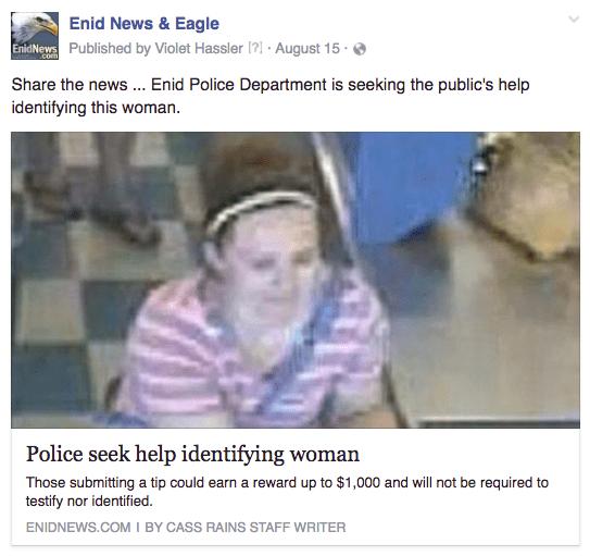 Enid identify woman