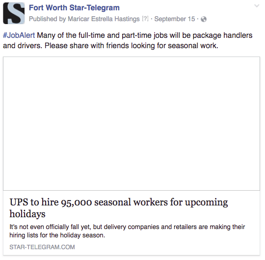 FW UPS jobs