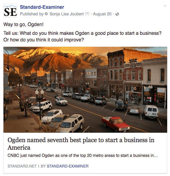 Ogden business startups