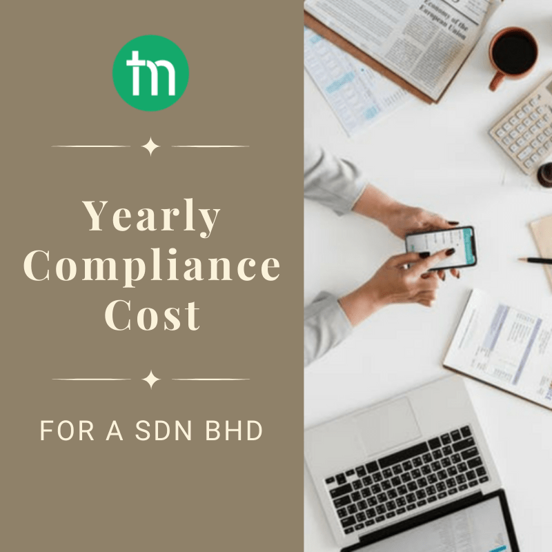 Yearly compliance cost for a Sdn Bhd with TrustMaven