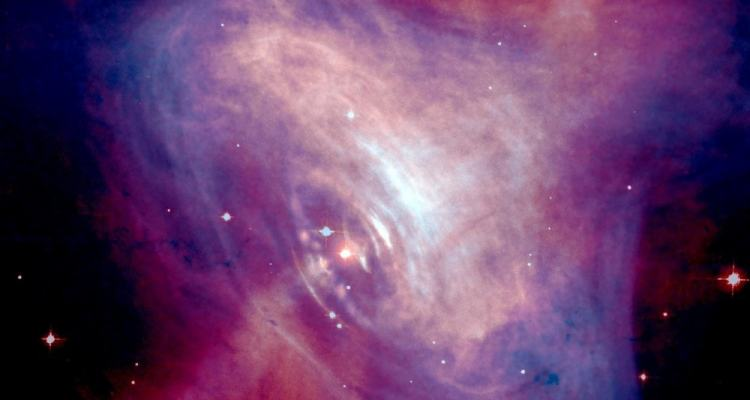 galaxie active crab lumière