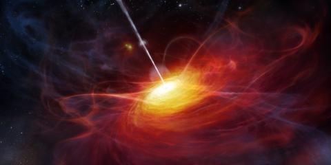 quasar univer primitif trou noir big bang