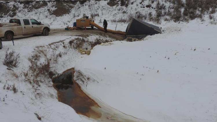 fuite petrole dakota nord