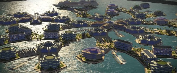 ile ville flottanteSeasteading Institute titre