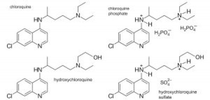 chloroquine molecule derivatives