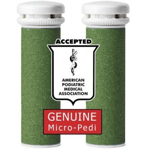 5.Genuine Emjoi Micro-Pedi Xtreme Coarse Rollers (Roughest and Toughest Calluses)