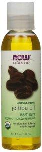 7.NOW Foods Organic Jojoba Oil, 4 ounce