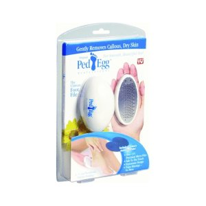 8.Ped Egg Pedicure Foot File, Colors may vary