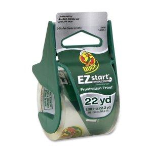 4.Duck Brand EZ Start Packaging Tape