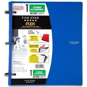 4.Five Star Flex Hybrid NoteBinder