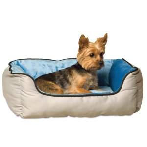 8.K&H Lounge Sleeper Self-Warming Pet Bed, 16-Inch by 20-Inch