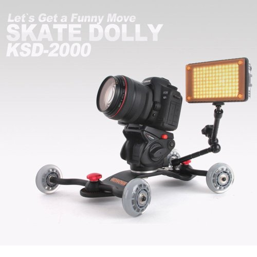 5.Konova DSLR Video Slider Table Camera Dolly Ksd 2000
