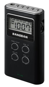 10. Sangean DT-180 AM : FM Pocket Radio