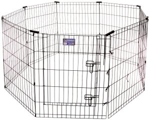 7.Midwest Black E-Coat Exercise Pen