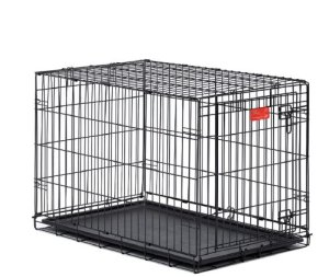 9.Midwest Life Stages Folding Metal Dog Crate