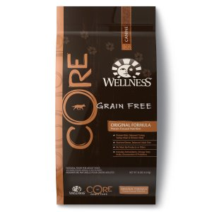 1. CORE Natural Grain Free Dry Dog Food by Wellness Natural Pet Food