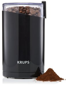 1.KRUPS Electric Spice and Coffee Grinder with Stainless Steel Blades