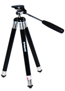 10.Polaroid Travel Tripod Includes Deluxe Tripod Carrying Case