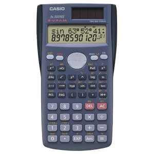 4. Casio fx-300MS Scientific Calculator
