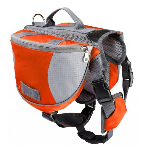 4. Lifeunion Saddle Bag Backpack for Dog