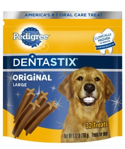 5. Dentastix Oral Care Treats for Dogs by Pedigree