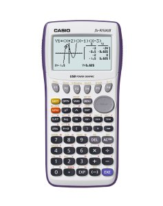5.Casio fx-9750GII Graphing Calculator, White