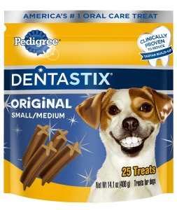 7. Dentastix Dog Treats by Pedigree