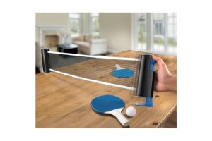7. Emerson Table Top Tennis Set with Retractable Expandable Net