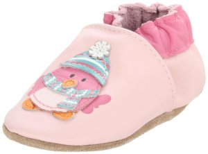 2. Robeez Soft Soles Cozy Bird Crib Shoe