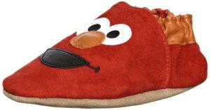6. Robeez Soft Soles 3D Elmo Slip On