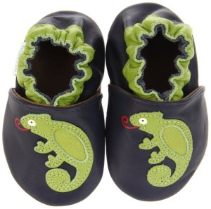 9. Robeez Soft Soles Touch & Feel Chameleon Pre-Walker