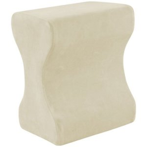 1. Contour Products Memory Foam Leg Pillow with Cover