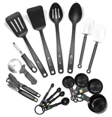 1.Farberware Classic 17-Piece Kitchen Cooking Utensils