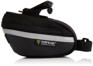3. Topeak Wedge with Fixer and Rain Cover
