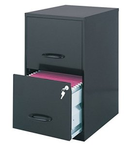 4. OfficeMax 2-Drawer Office File Cabinet