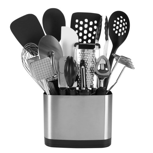 7. OXO Good Grips 15-Piece Cooking Utensils Set