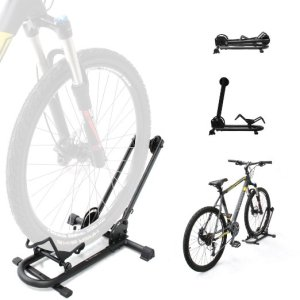 9.BIKEHAND Bike Floor Parking Rack Storage Stand Bicycle