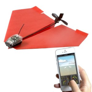 9. PowerUp 3.0 Smartphone Controlled Paper Airplane