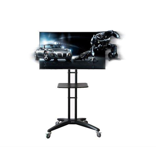 3.FLEXIMOUNTS Rolling TV Cart Stand
