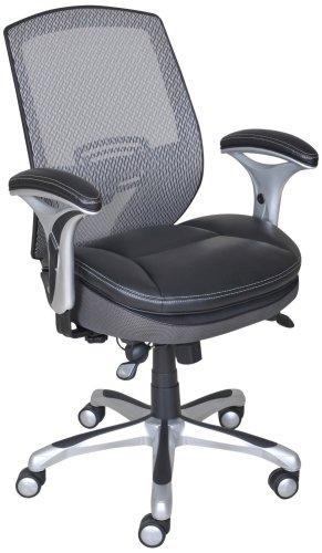 9. Serta Smart Layers Blissfully Task Office Chair, Black