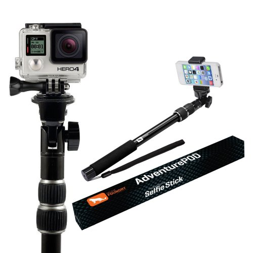 4. Selfie Stick - Use as a GoPro Pole - Selfie Stick for iPhone 6 - Monopod Selfie Stick