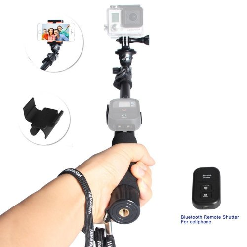 9.Top 10 Best GoPro Selfie Sticks with Remote Review in 2016