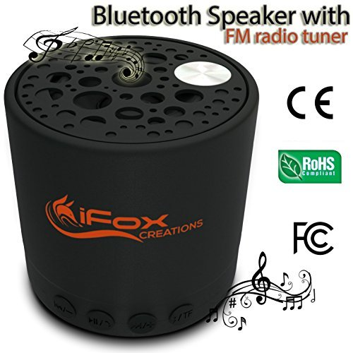 5.List 10 Best Portable Bluetooth Speaker with FM-radio Reviews