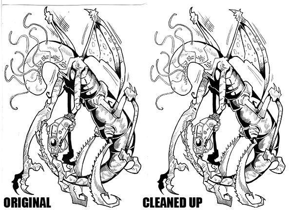 Digital Inking Comparison 1
