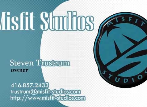 Business Card -- Misfit Studios
