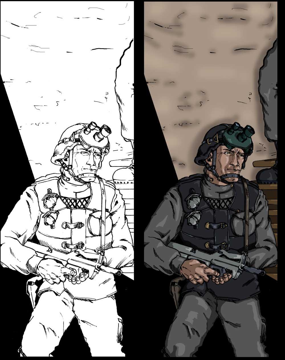 Steven Trustrum Soldier