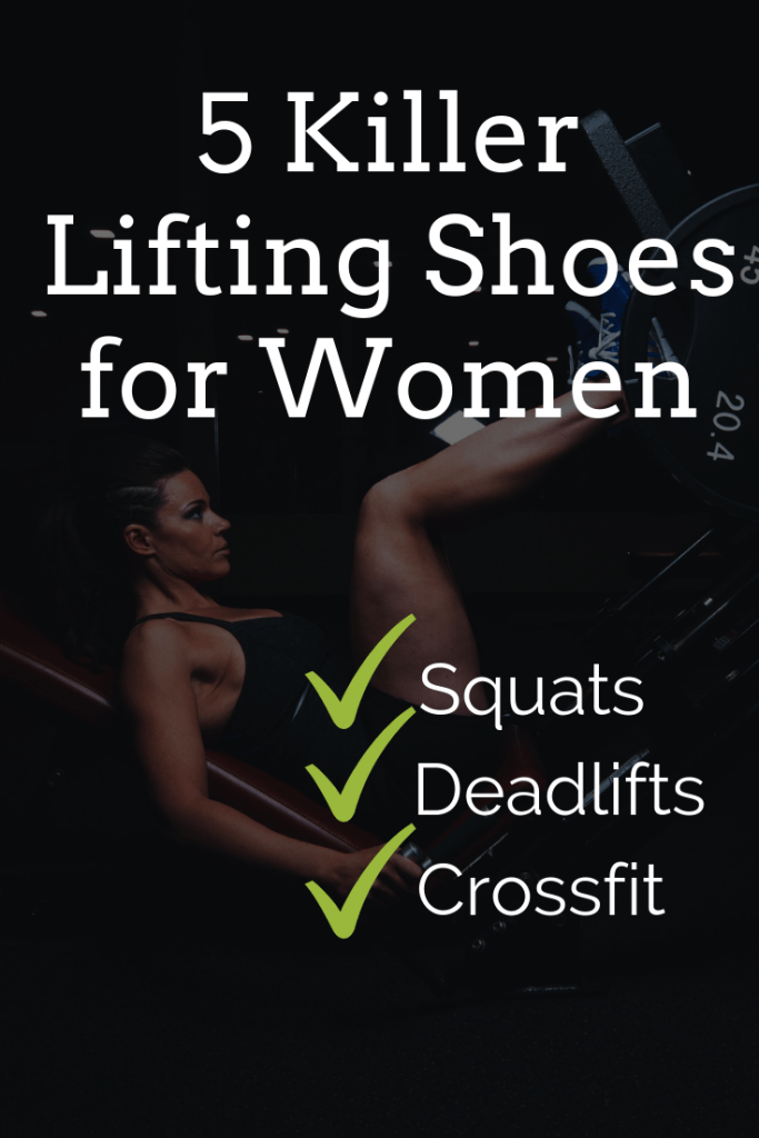 5 best lifting shoes for women (Squats, deadlifts, CrossFit & more)